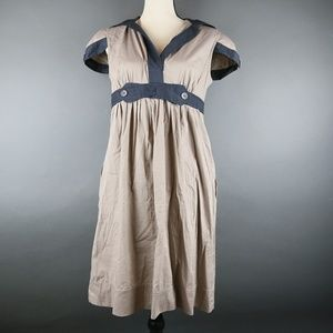 BCBG Brown Mini Dress Size M